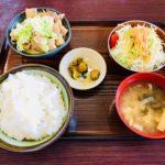深谷市小前田にある「JA花園農協 直営食堂」の『もつ煮定食』【さいつうグルメ】