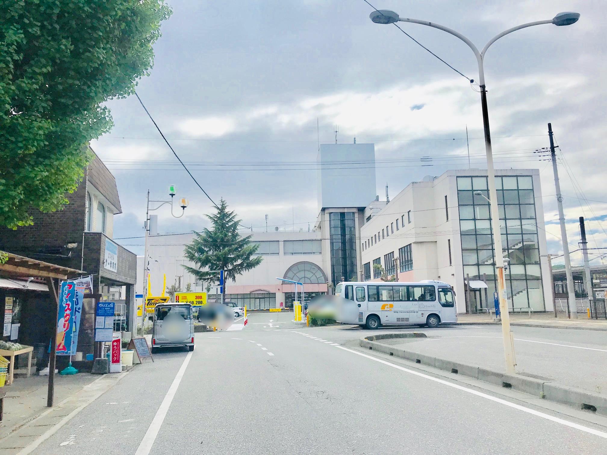 場所は寄居駅南口ロータリーの西側 △ △ コチラとは逆側に行くと以前記事にした「今井屋」があります。
