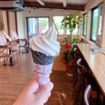 深谷市小前田にオープンした「Layer Café(レイヤーカフェ)」の『濃厚ミルクソフトクリーム』他【さいつうグルメ】