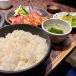 本庄市西富田にある「炭火焼肉ぎょうてん 本庄店」の『満腹焼肉ランチ』【さいつうグルメ】