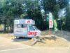 本庄市早稲田の杜のキッチンカー「伊好屋(いすきや)」の『マルゲリータ』【さいつうグルメ】